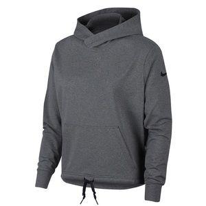 Nike tie front hoodie NWT